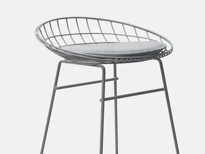 Pastoe KM06 stool grey detail