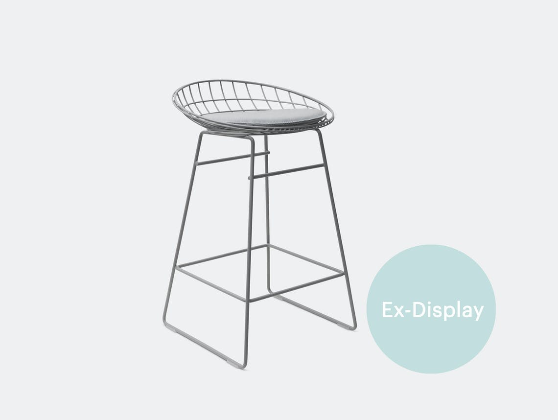 Pastoe KM06 stool grey ex display