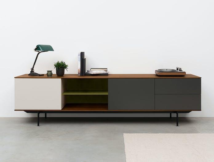 Pastoe Landscape Sideboard JS021 Shelf Olive 2