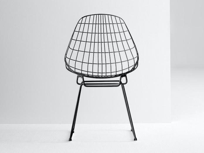 Pastoe SM05 chair black front Cees Braakman