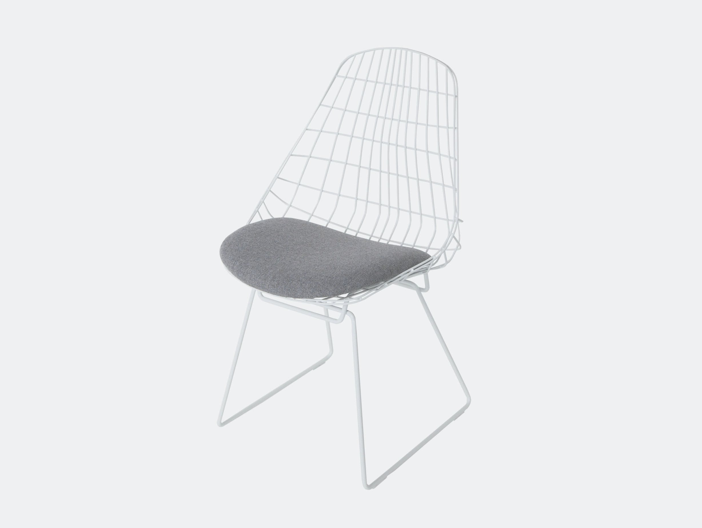 Pastoe SM05 chair paper white grey fabric seat Cees Braakman