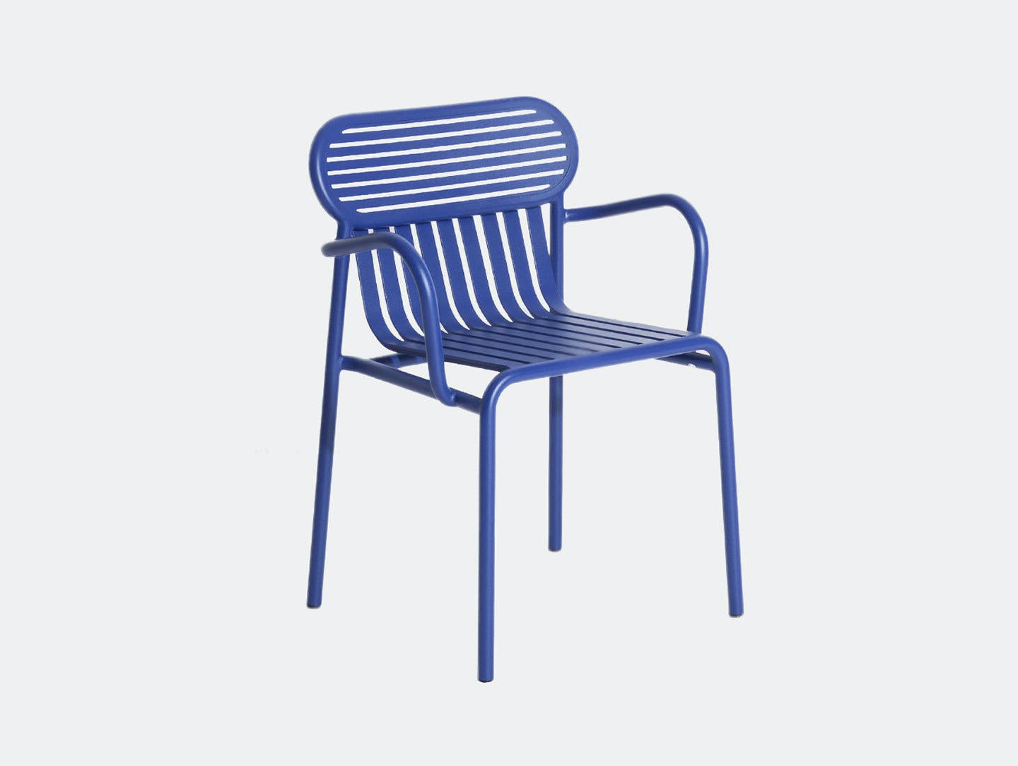 Petite Friture Week End Outdoor Armchair blue Studio Brichet Ziegler