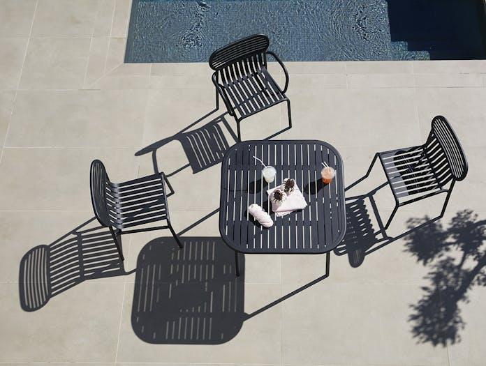 Petite Friture Week End Outdoor Side Chair black 2 Studio Brichet Ziegler