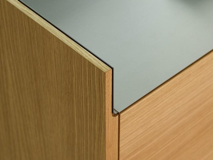 Punt Stockholm Sideboard STH312 oak detail Mario Ruiz