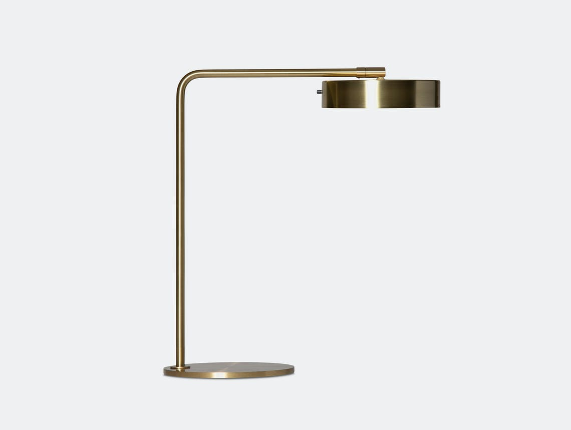 Rubn James Table Lamp brass