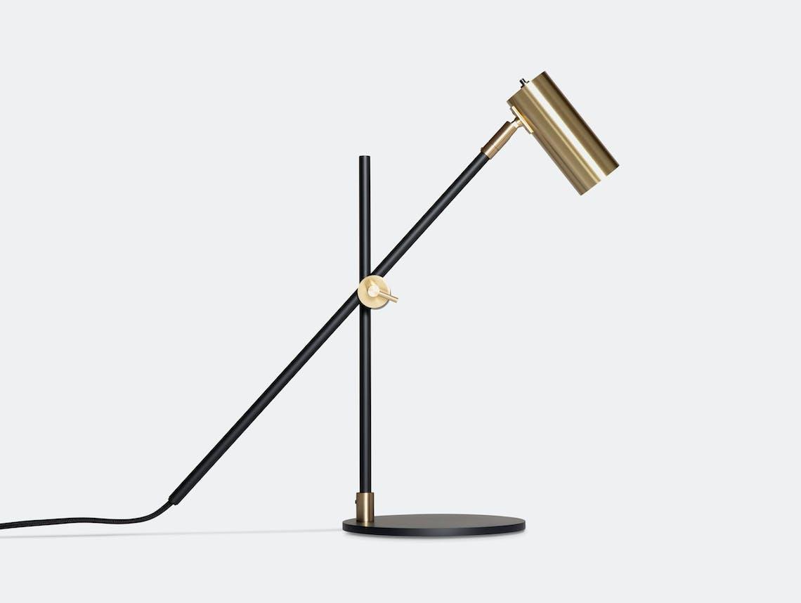 Rubn Lektor Desk Light black brass details