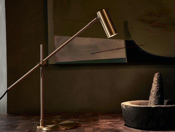 Rubn Lektor Desk Light brass 2