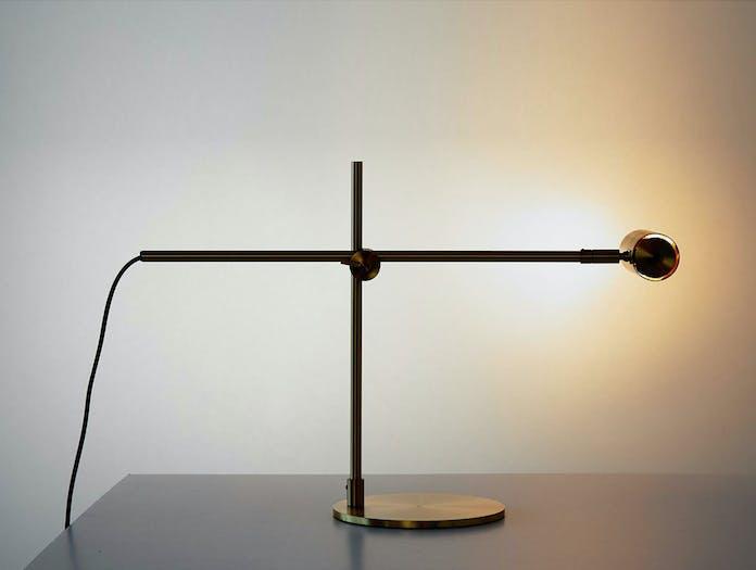 Rubn Lektor Desk Light brass 4