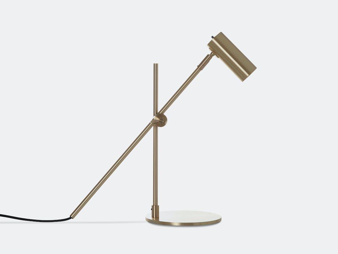 Rubn Lektor Desk Light brass