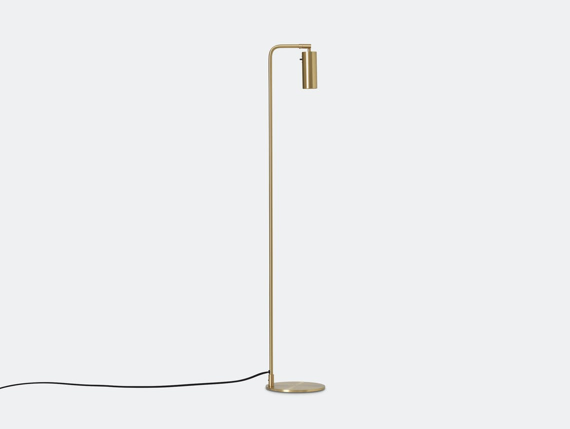 Rubn Lektor Floor Light brass