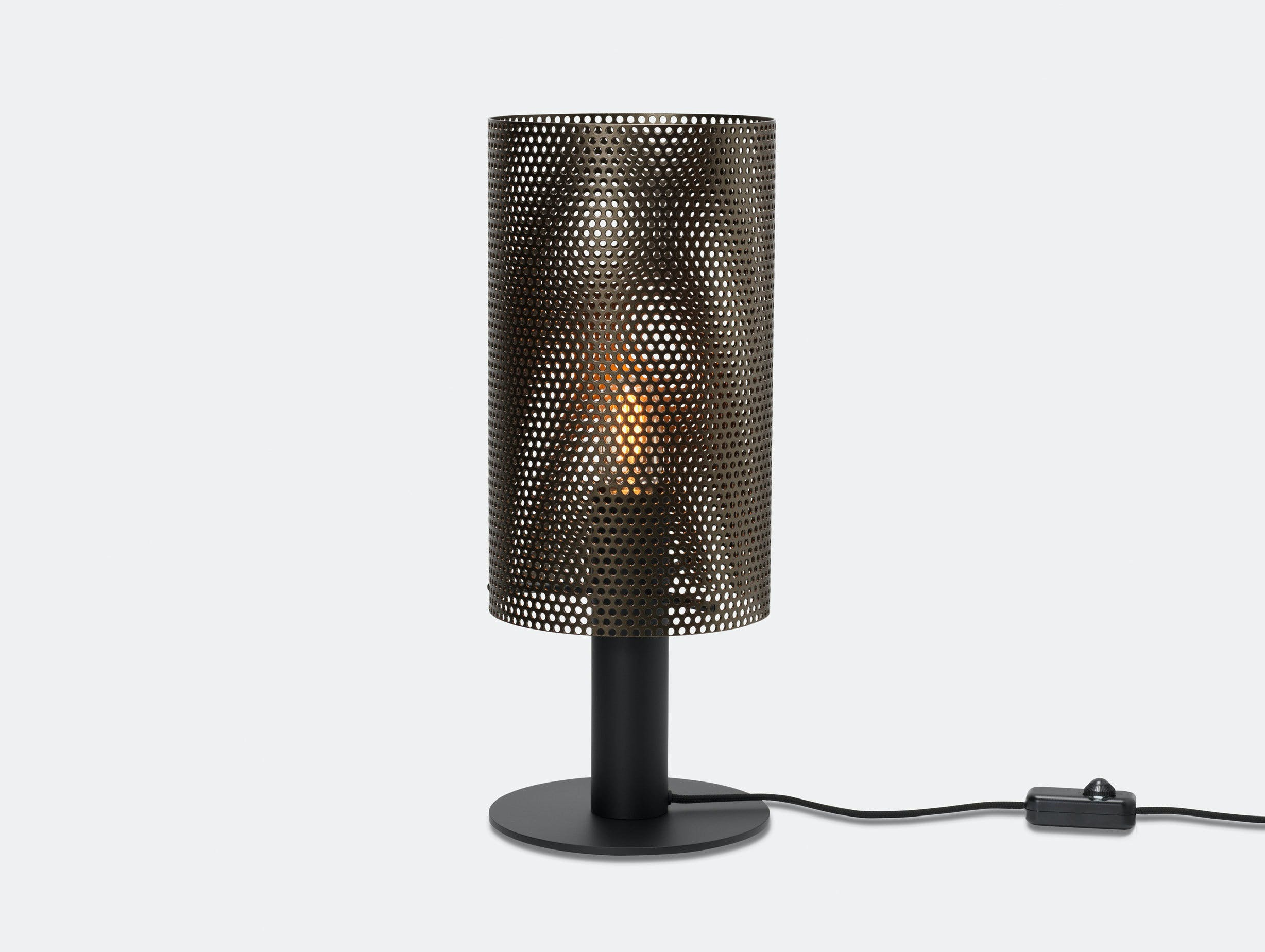 Rubn Vouge Table Lamp medium black bronze