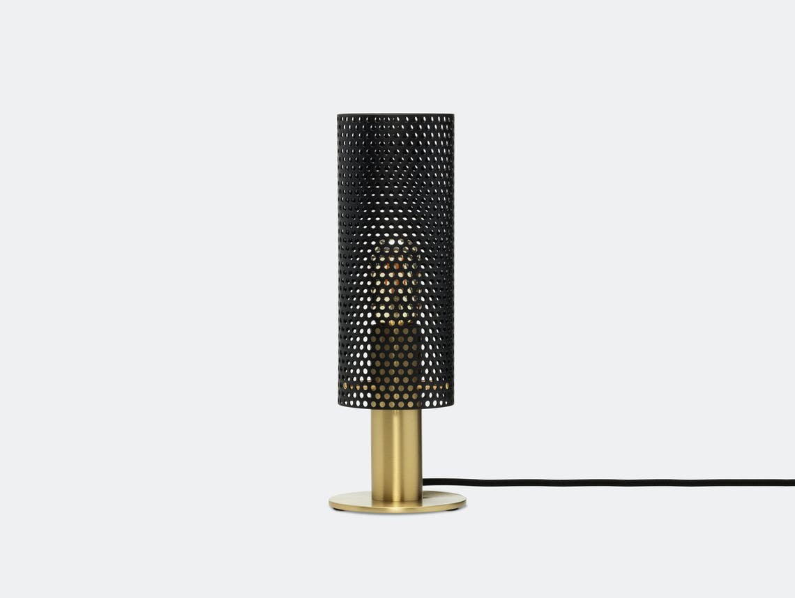 Rubn Vouge Table Lamp small black brass