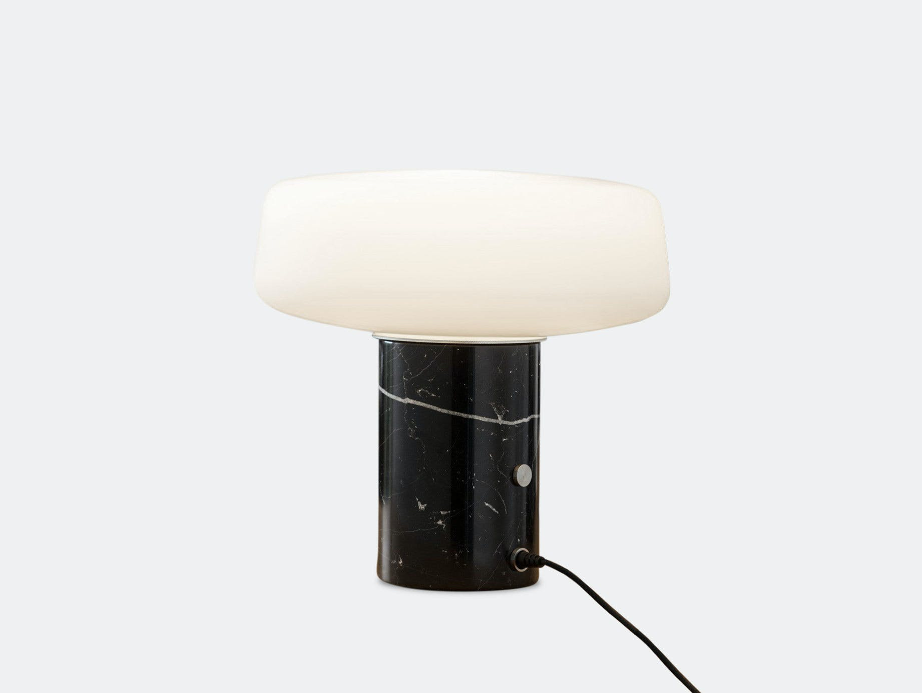 Terence Woodgate Solid Table Light small Black Nero Marquina Marble