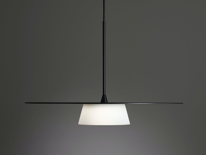Terence Woodgate Sum Pendant Light black side
