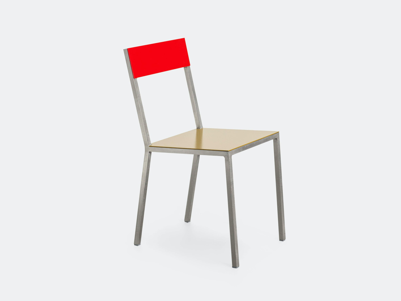 Valerie Objects Alu Chair Red Curry Muller Van Severen