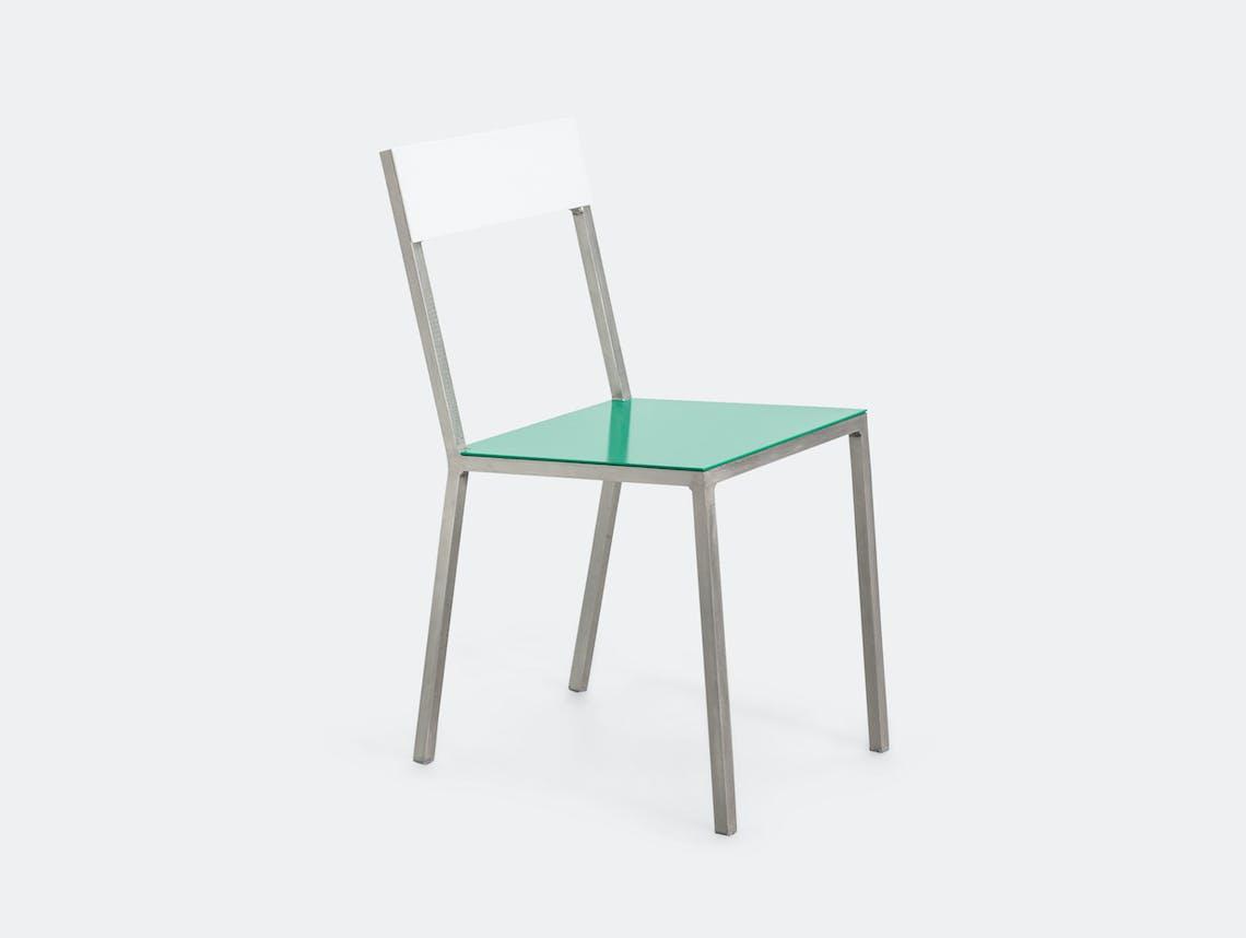 Valerie Objects Alu Chair White Green Muller Van Severen