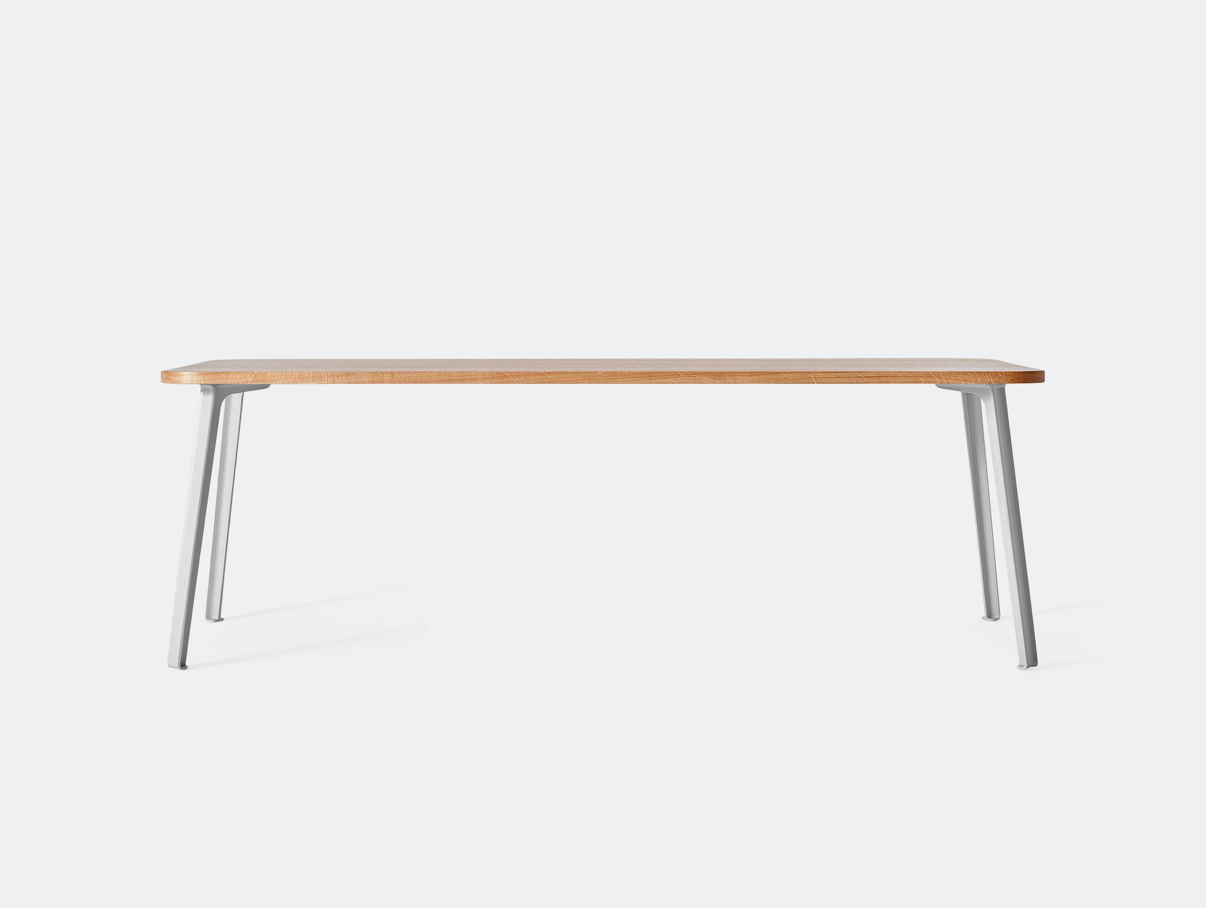 Very Good and Proper Canteen Rectangle Table XL oak grey white Klauser and Carpenter