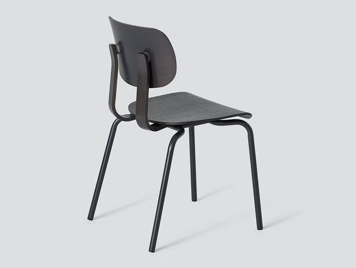 Very Good and Proper HD Stacking Chair graphite John Tree