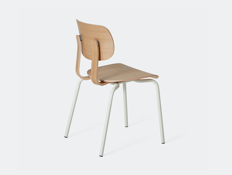 Very Good and Proper HD Stacking Chair oak grey white John Tree
