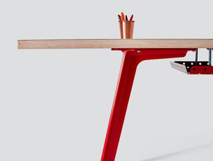 Very Good and Proper XL Modular Desk detail Klauser and Carpenter