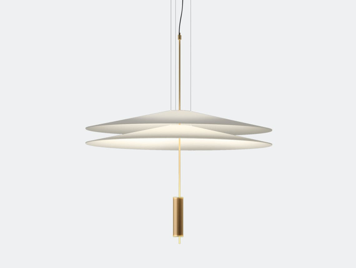Vibia Flamingo Pendant Lamp Model 1510 gold Antoni Arola