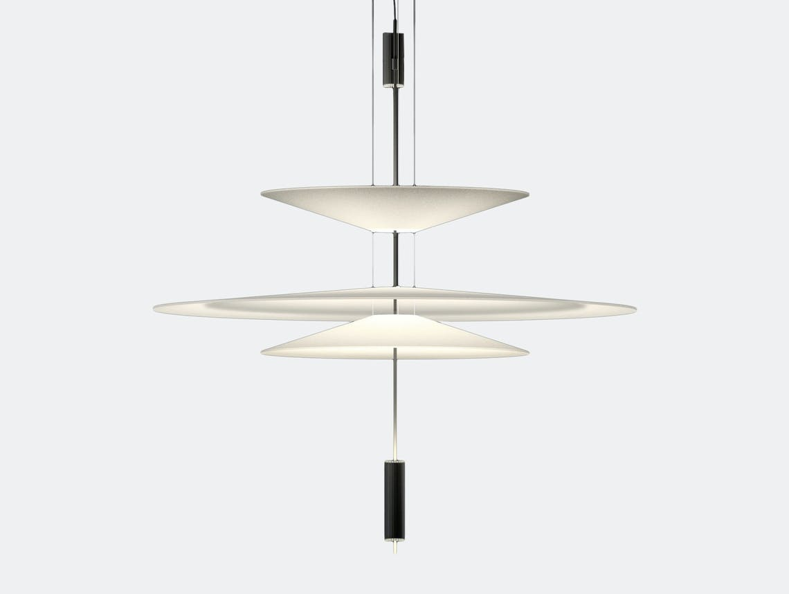 Vibia Flamingo Pendant Lamp Model 1530 graphite Antoni Arola