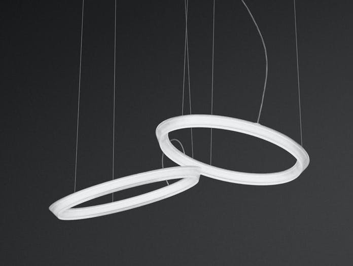 Vibia Halo Circular Pendant model 2331 bkgd 2 Martin Azua