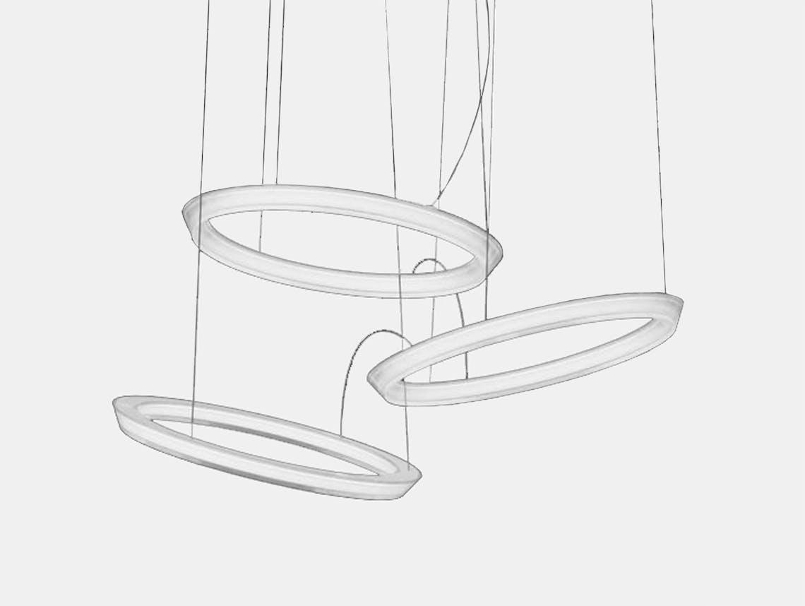 Vibia Halo Circular Pendant model 2332 Martin Azua