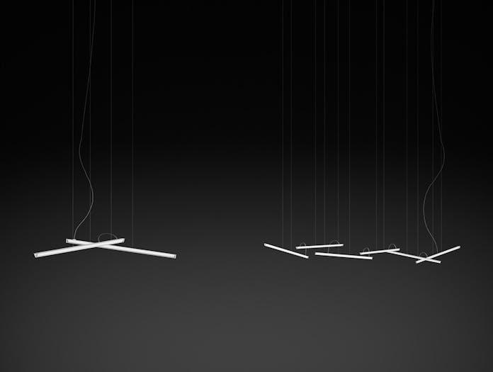 Vibia Halo Lineal Pendant groups Martin Azua