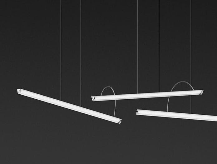 Vibia Halo Lineal Pendant model 2341 Martin Azua