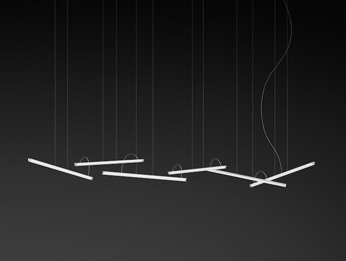 Vibia Halo Lineal Pendant model 2342 Martin Azua