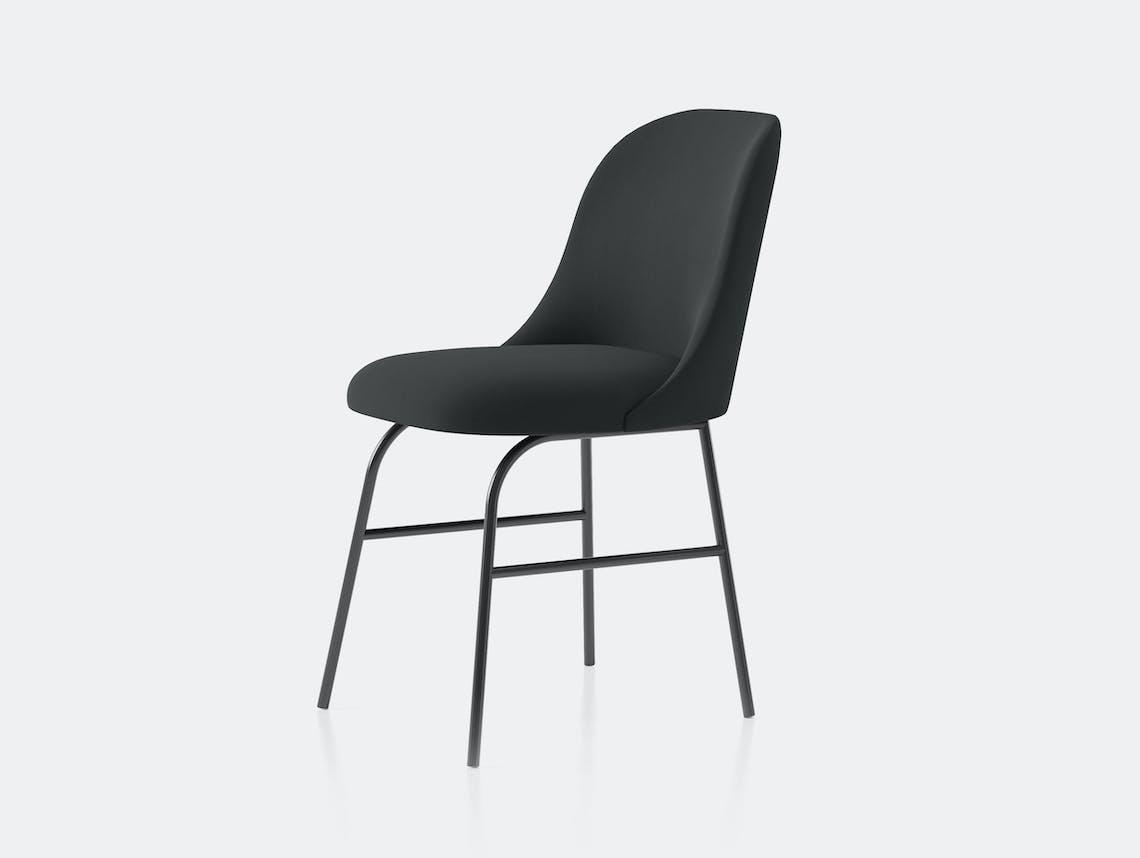 Viccarbe Aleta Chair metal base black Jaime Hayon