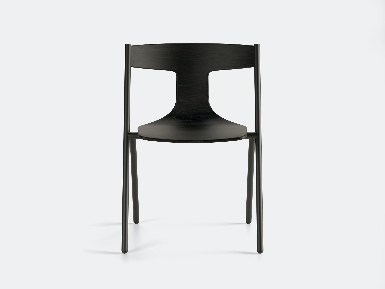 Viccarbe Quadra Chair Black Oak Black 2