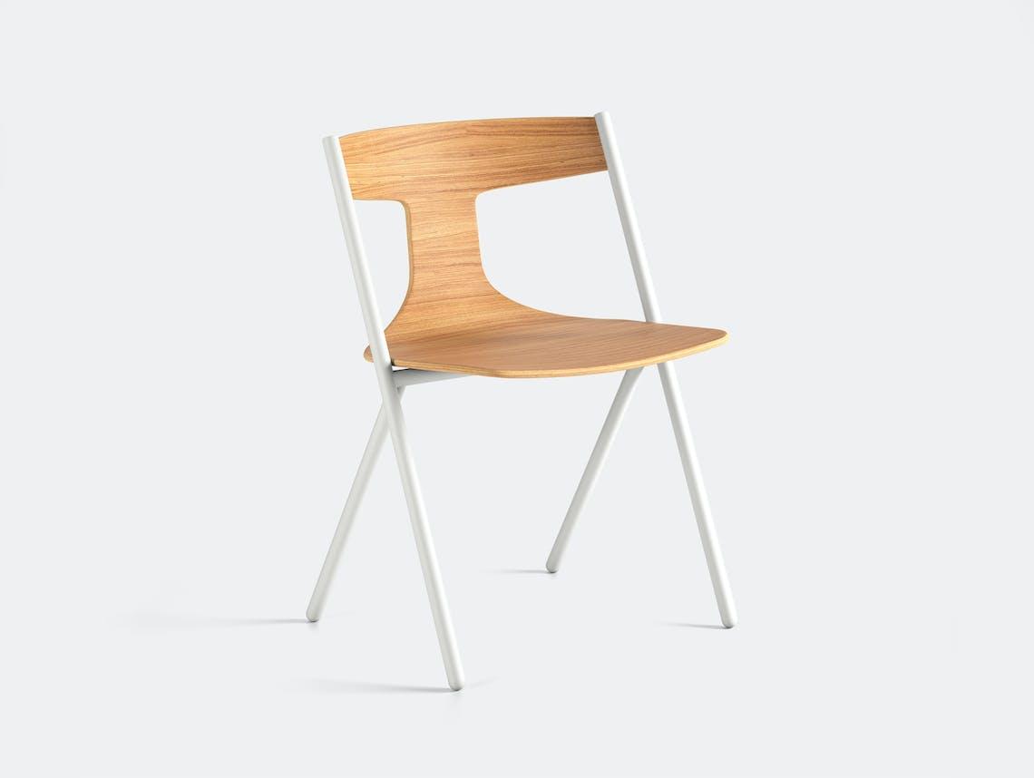 Viccarbe Quadra Chair Oak White