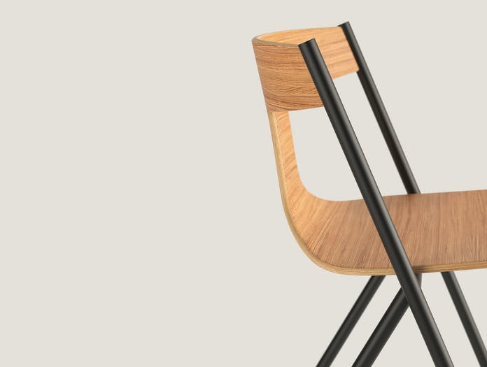 Viccarbe Quadra Chair Lifestyle 7