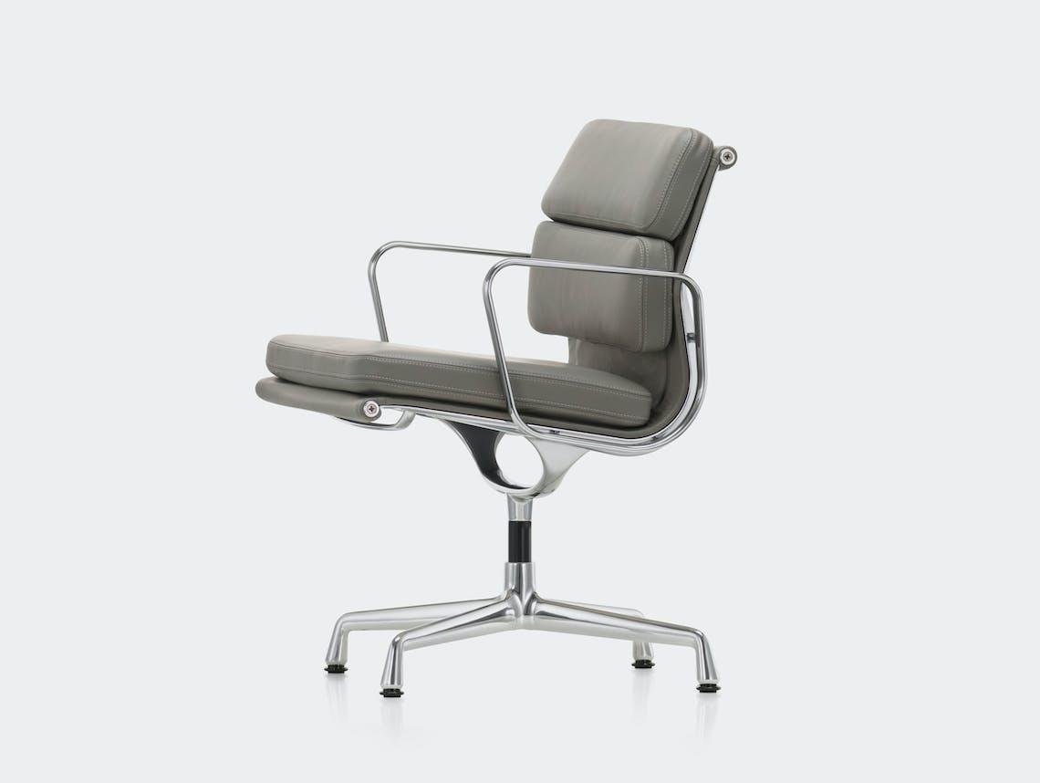 Vitra EA208 Soft Pad Group Chair polished alu granite