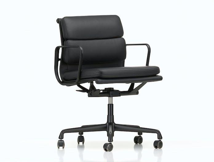 Vitra EA217 Soft Pad Group Chair deep black frame Eames