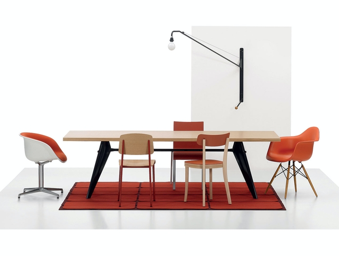 Vitra EM Table Eames Chairs