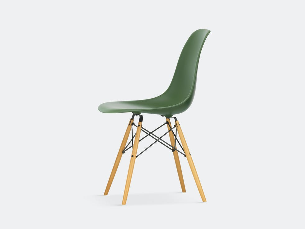 Eames DSW Plastic Side Chair image