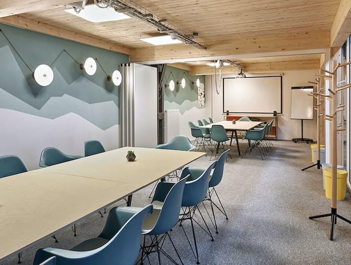 Vitra Eames Plastic Chairs meeting room