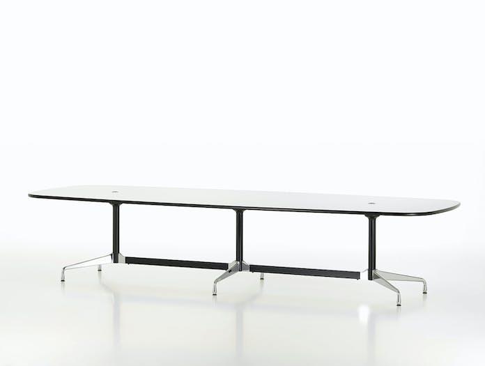 Vitra Eames Segmented Table L 360 white laminate 2