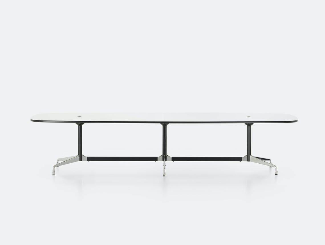 Vitra Eames Segmented Table L 360 white laminate
