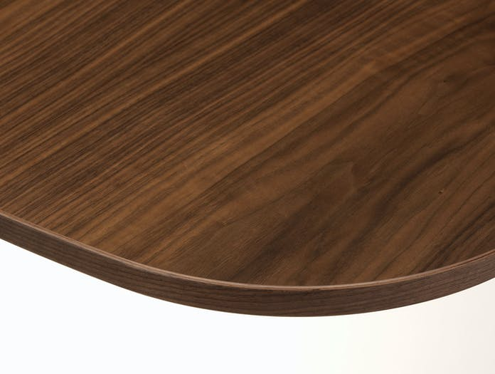 Vitra Eames Segmented Table american walnut