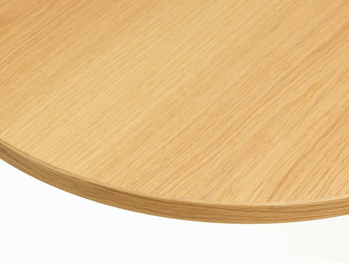 Vitra Eames Segmented Table light oak