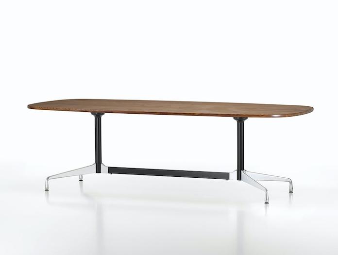 Vitra Eames Segmented Table walnut