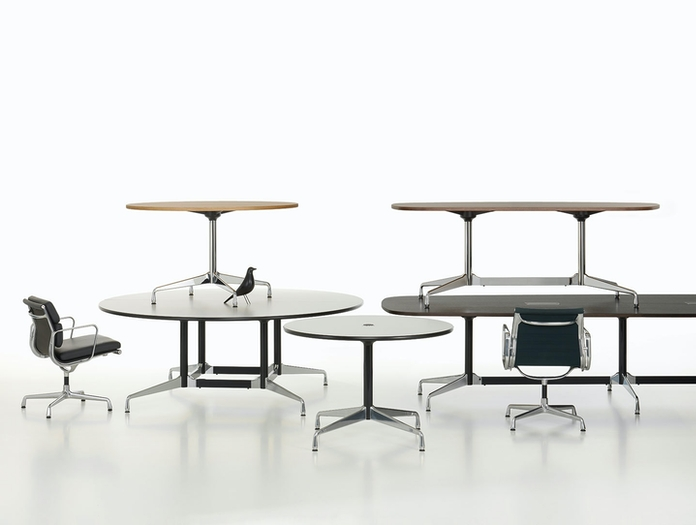 Vitra Eames Segmented Tables group