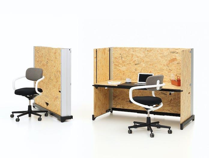 Vitra Hack Table System desk closed Konstantin Grcic