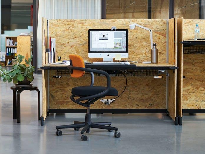 Vitra Hack Table System folding office desk Konstantin Grcic