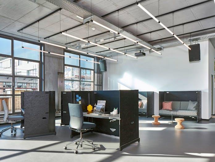 Vitra Hack Table System folding open office desk Konstantin Grcic