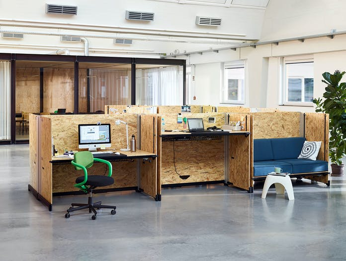 Vitra Hack Table System office desk high desk sofa Konstantin Grcic